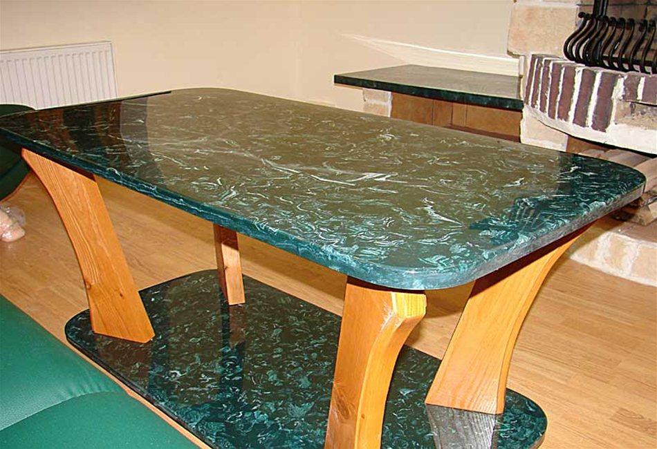 Столы из камня - Строительные материалы